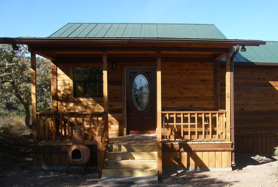 Cedar cabins shell builders texas joy studio design for Cabin builder texas