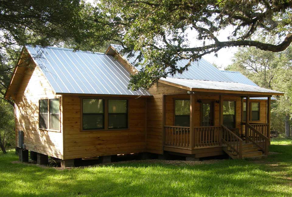 Cantu quality builders texas homes cedar cabins Texas cabins in the woods