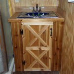 Cabin Bathroom Cabinet